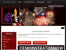 Tablet Preview of abcvuurwerk.nl